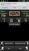 Screenshot of DS Football Statware