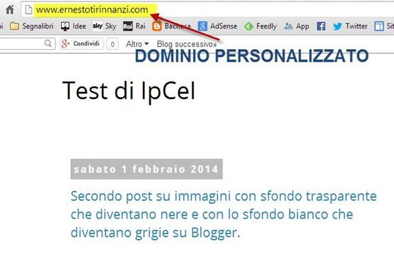 redirect-dominio-personalizzato
