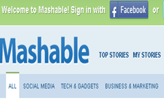 Top 10 Best Blogs-Mashable