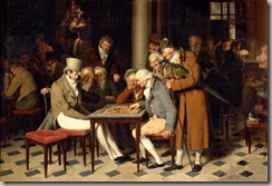 Jeux de dames au caf Lamblin au Palais-Royal (Louis Lopold Boilly (1761-1845)