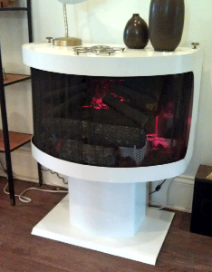 Cool Stuff Gallery Cool Vintage Electric Fireplace