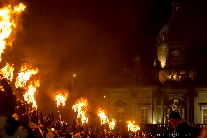 Viking procession Edinburgh Hogmanay