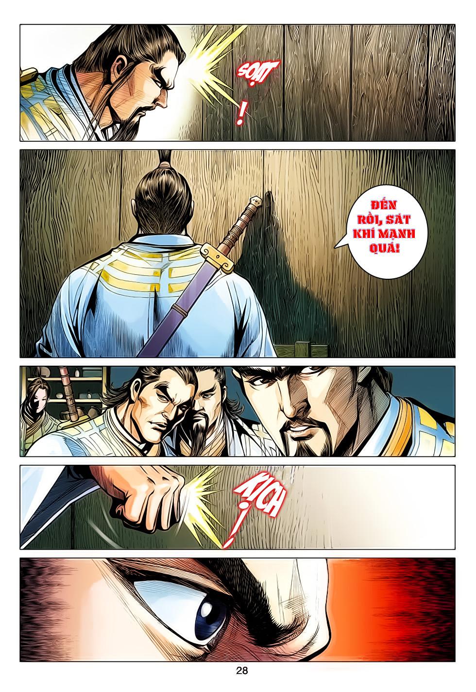 Anh Hùng Xạ Điêu anh hùng xạ đêu chap 61: thất tử chiến thiết thi trang 28