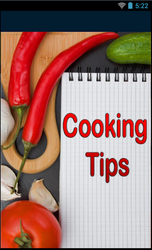 Cooking Tips and Culinary Arts