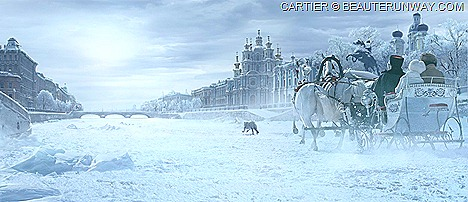 L'Odyssée de Cartier Russia St Petersburg Panther French Luxury high jewelry, watches, leather goods 165 Anniversary film