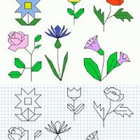 Dibujos Con Cuadricula Para Imprimir Y Hacer