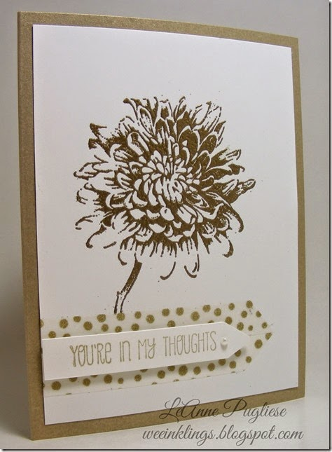 LeAnne Pugliese WeeInklings Blooming With Kindness Stampin Up