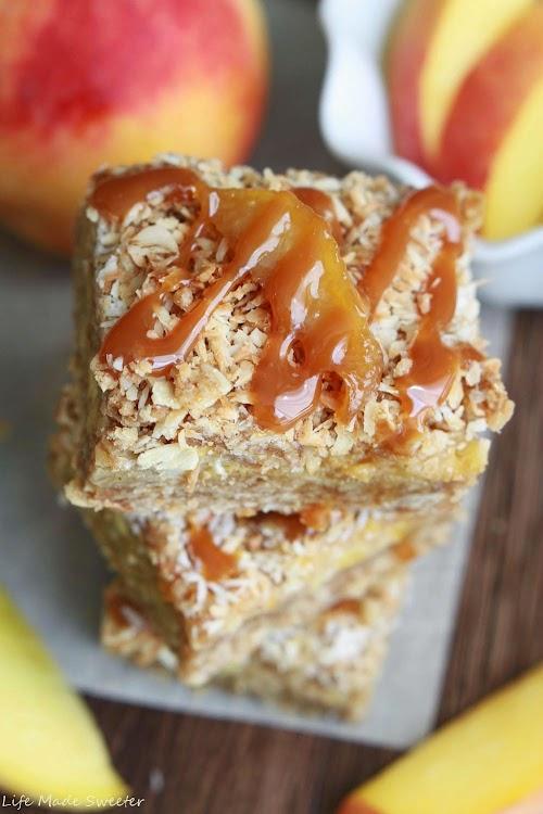 Coconut Peach Streusel Bars 7 - Life Made Sweeter.jpg