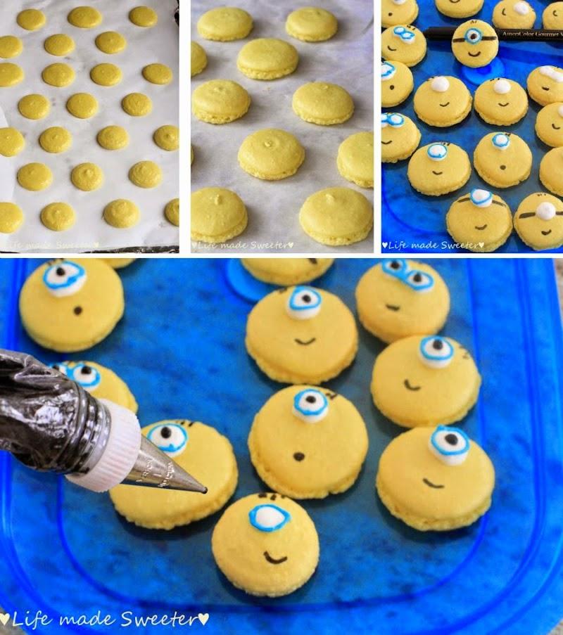 Minion-Macarons