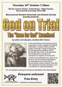 BSHAS God on Trial Poster