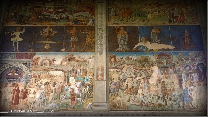 Palazzo Schifanoia, Salone dei Mesi, Ferrara, Italy, Photo3
