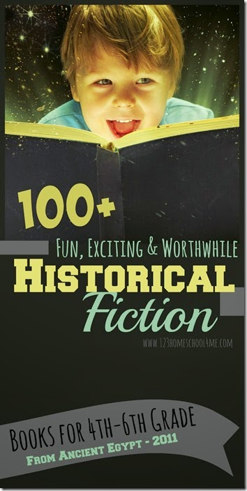 Historical Fiction for kids - over 100 best historical fiction for third grade, 4th grade, 5th grade, and 6th graders to read. Perfect for reading programs, summer reading, homeschooling and more