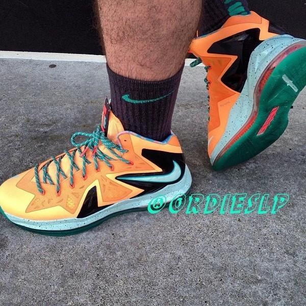 bbef541d55 Nike LeBron X P.S. Elite EYBL aka Shooting Stars PE | NIKE LEBRON ...