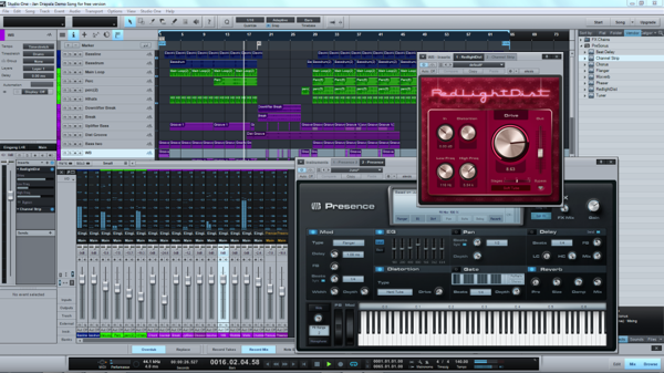 Presonus studio one free