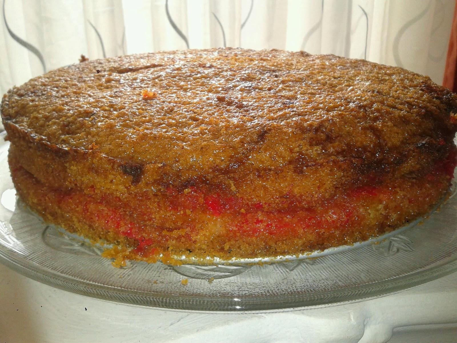 Susse Sunden Selbst Gebacken Dreh Dich Um Kuchen Mit Pfirsich