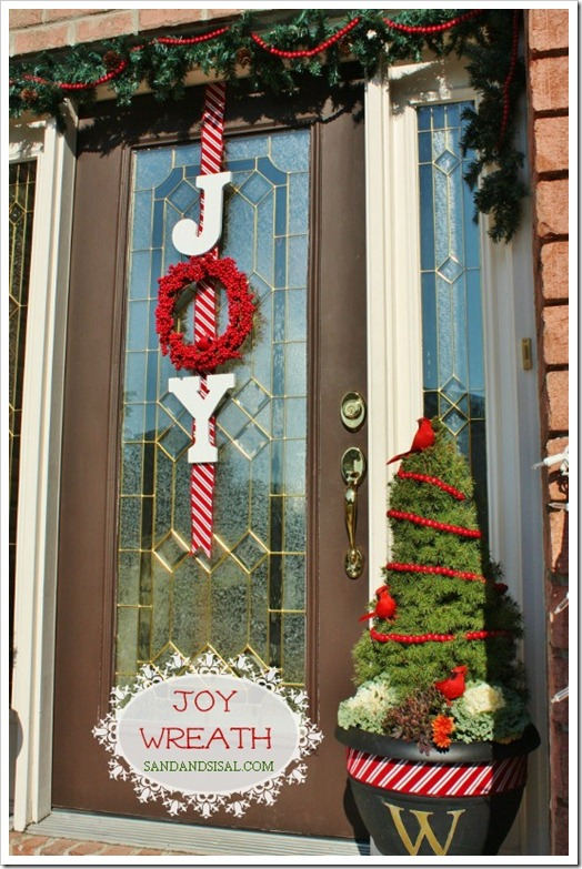 Joy wreath sand and sisal for Sisal decoration