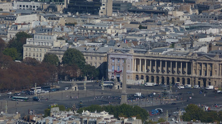Obiective turistice Paris - Place de la Concorde