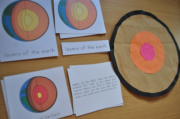 Introducing the Layers of the Earth to Preschoolers (with Free Printable)