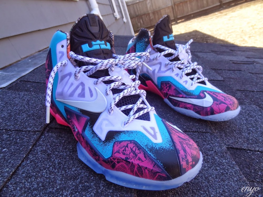 newest f97a0 ce7ee Nike LeBron XI Gumbo iD Designed and Build by Angel ...