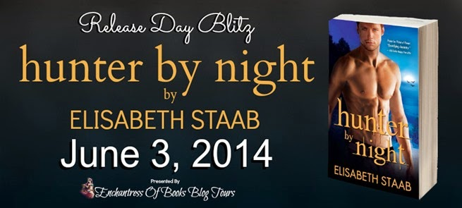 Hunter By Night Release Day Blitz Banner