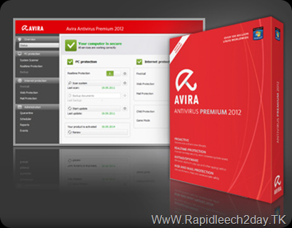 Download Avira internet security 2012 – With license Key free - new Avira Version 2012