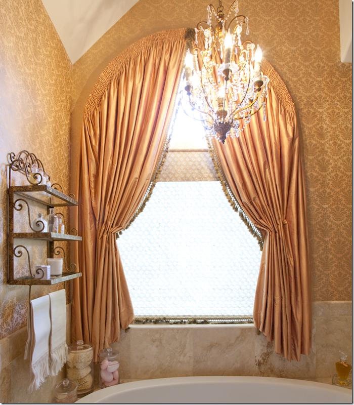 Image result for peach orange brocade curtains