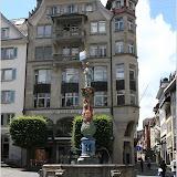 Fritschi-Brunnen auf dem Kapellplatz