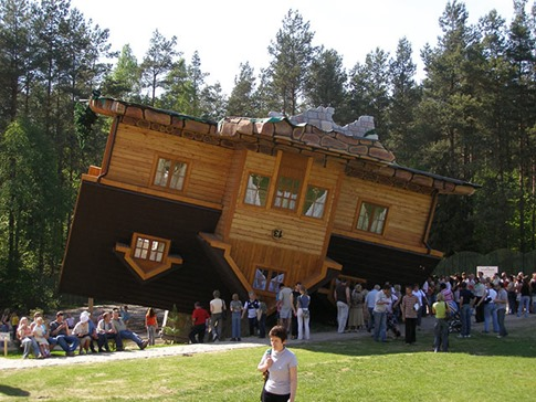 11. Upside Down House (Szymbark, Poland)