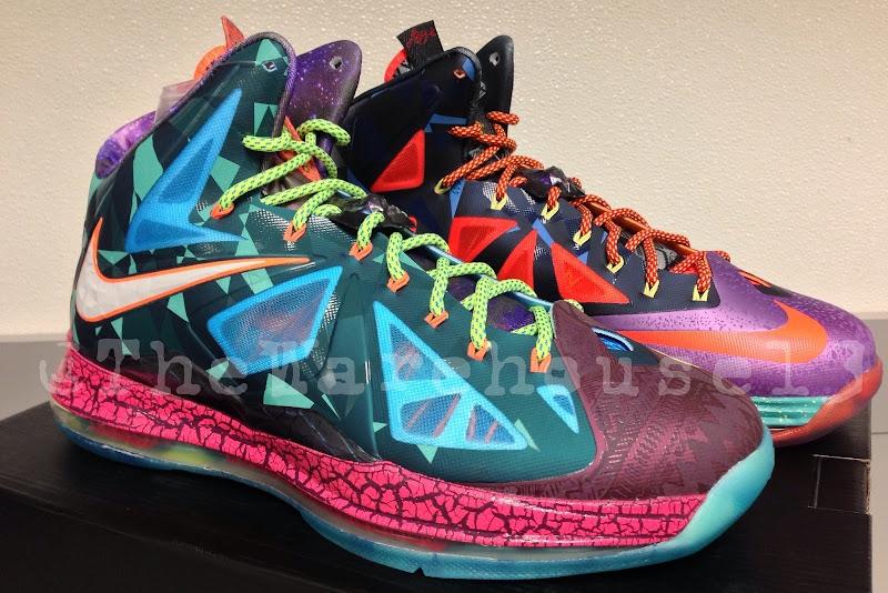 Nike LeBron X MVP (618217-300) Will Release in July (~500 ... Lebron 10 What The Mvp