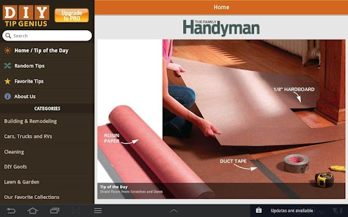 Family Handyman DIY Tip Genius- screenshot thumbnail