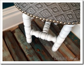 Upholstery Tacks {Sawdust and Embryos}