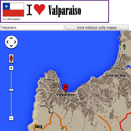 Valparaiso map