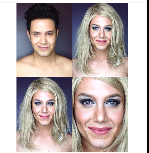 PHOTOS: Dad Transforms Himself Into Celebrities Using Makeup And Wigs 27