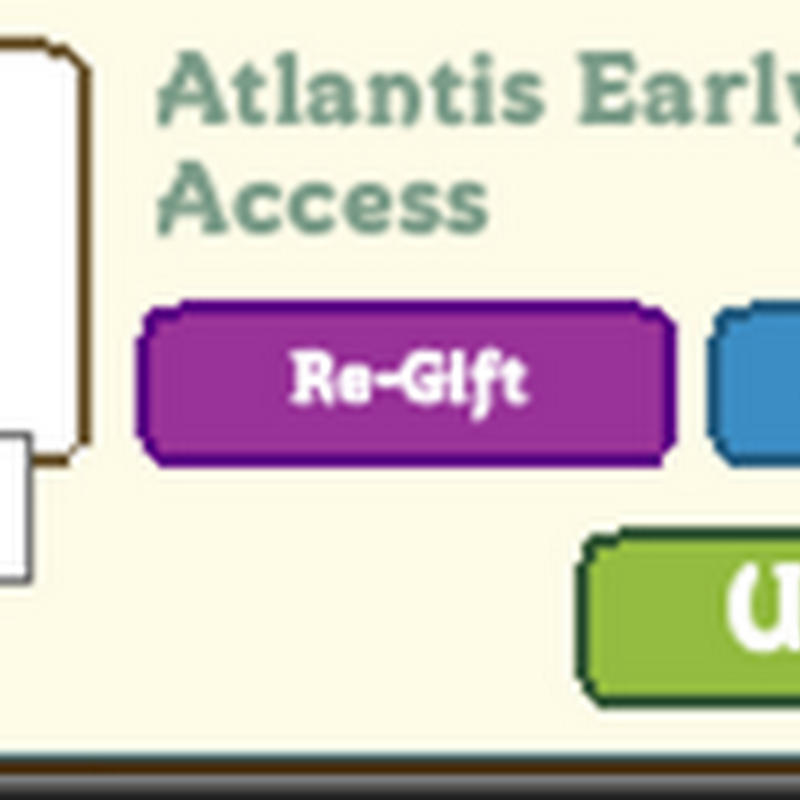 Farmville Atlantis: Paid Early Access Gifting
