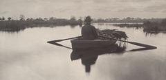Rowing Home the Schoof-Stuff 1886