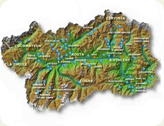 valle d'aosta map