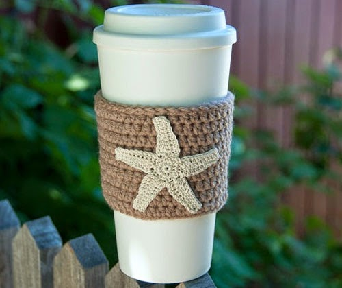 Inspiração: estrela do mar - crochê