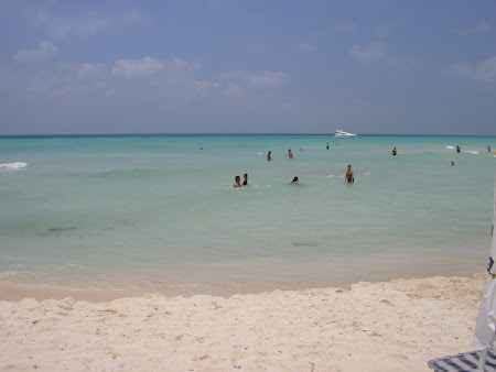 Plaje Isla Mujeres: Playa Norte Mexic