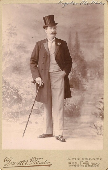 Cabinet Card Man from London DL Antiques
