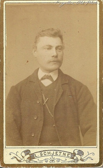 Cdv peter Eliason from Norway DL Antiques
