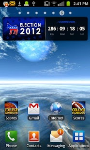 Election 2012 Countdown Dem- screenshot thumbnail