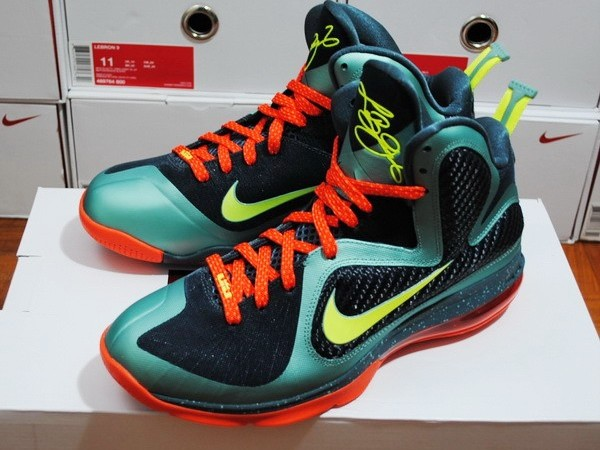 new arrival a7388 1cb7d Nike LeBron 9 8220PreHeat8221 Early Miami Release Info .