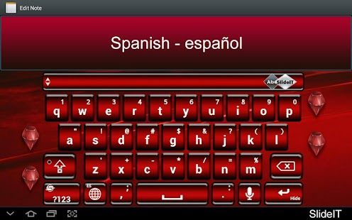 SlideIT Spanish Pack - screenshot thumbnail