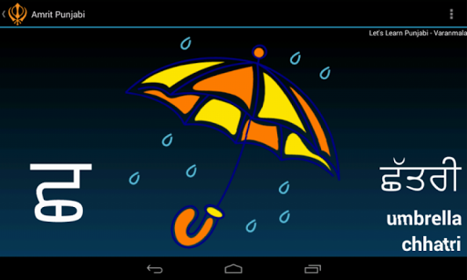 Punjabi Alphabet Amrit Punjabi app (apk) free download for Android