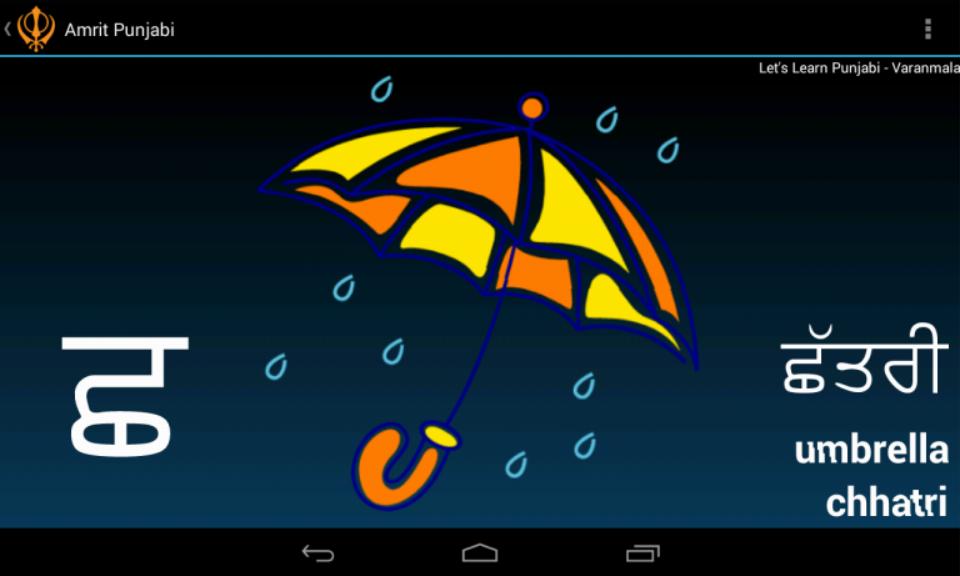 Download Punjabi Alphabet Amrit Punjabi Apk Latest Version App For