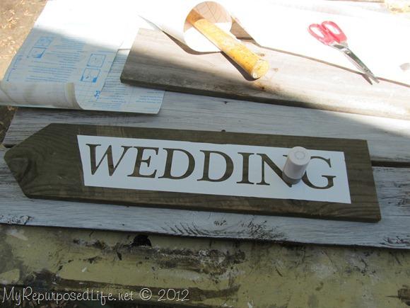 Rustic Wedding Sign (2)