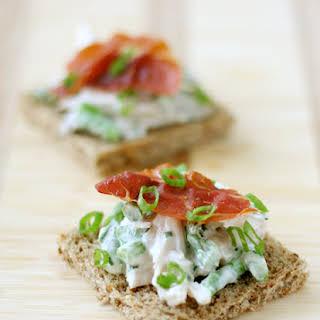 Open-Face Chicken Salad Sandwiches.