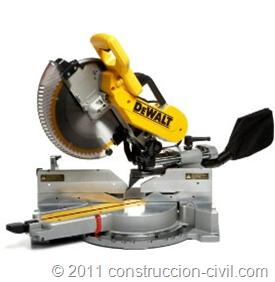 dewalt dw718 cortadora de madera