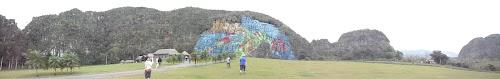 Prehistoric Mural at Vinales Cuba