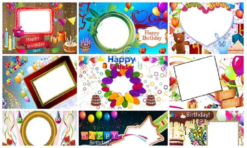 Outstanding Happy Birthday Pic Frames Inspiration - Custom Picture ...